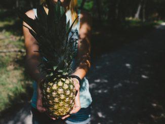 ananasová móda